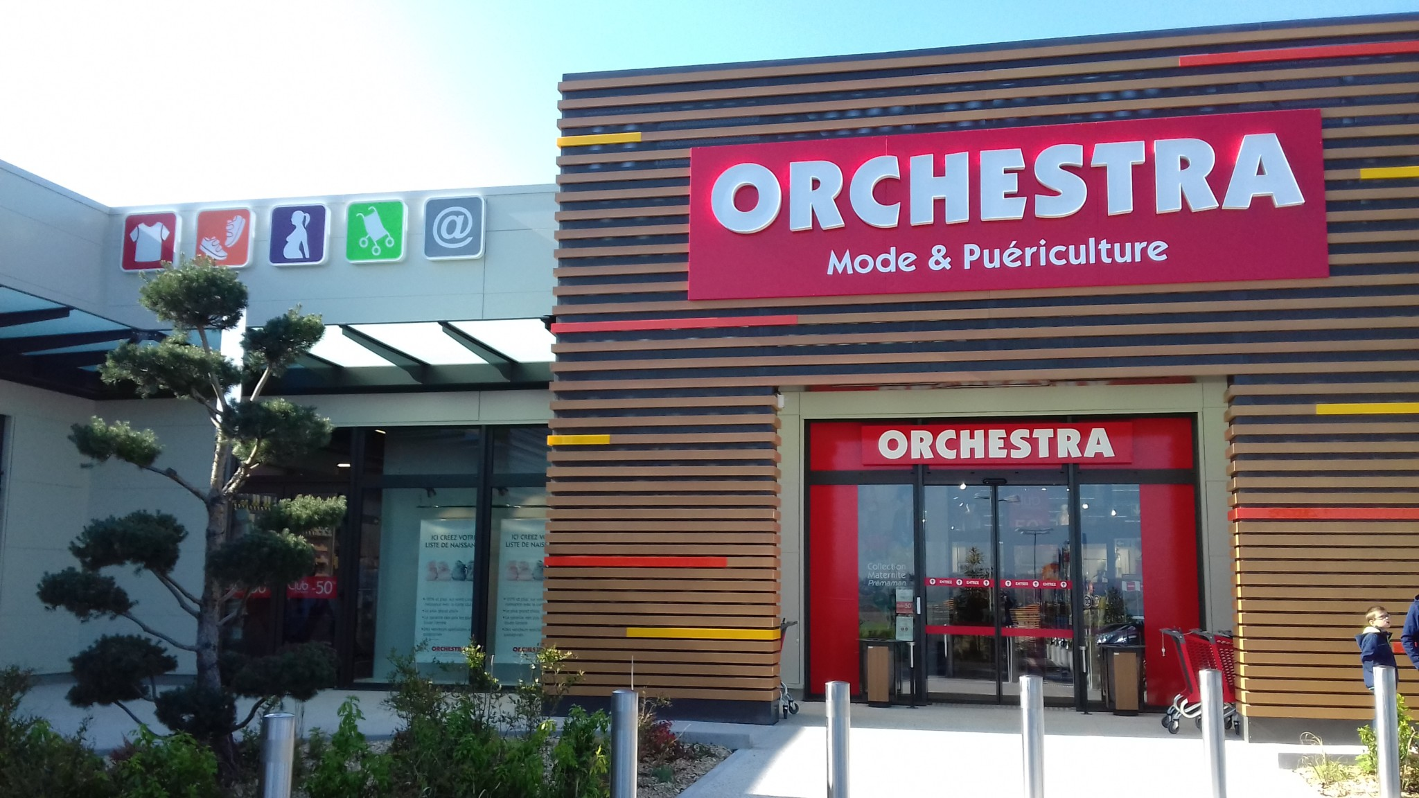 orchestra centre commercial carrefour nevers marzy. Black Bedroom Furniture Sets. Home Design Ideas
